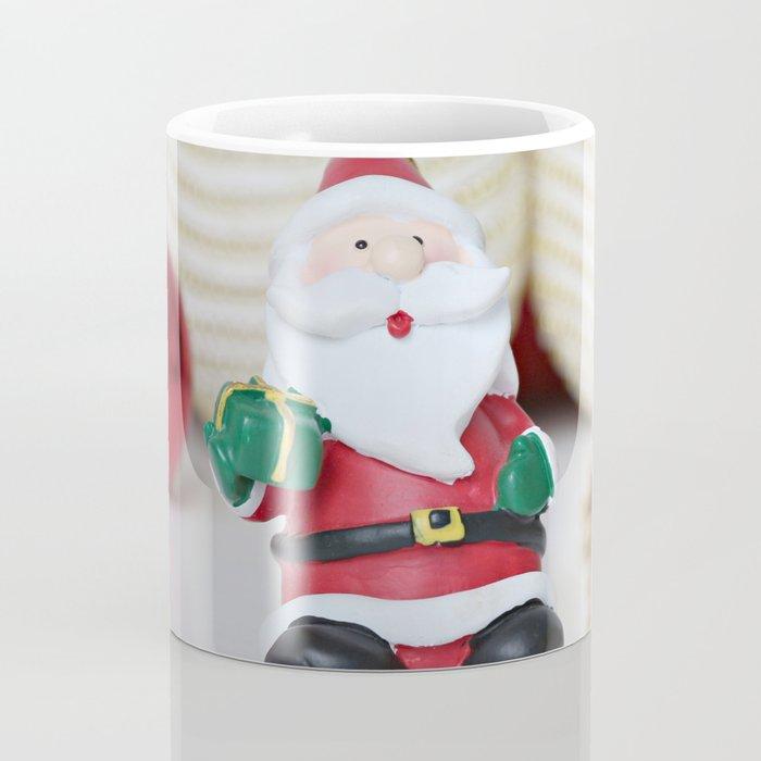 christmas decoration and Santa Claus Coffee Mug