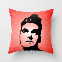 The Smiths - This Charming Man - Pop Art Throw Pillow