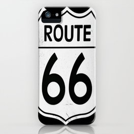 Historic Route 66 Sign iPhone Case