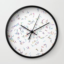 Line Dance Wall Clock