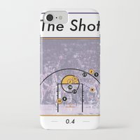 lakers iPhone & iPod Cases featuring The Shot Series, Derek Fisher by Dyllin Shane
