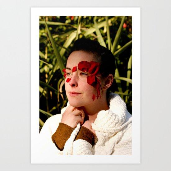 the sarajevo rose project (lisa II) Art Print
