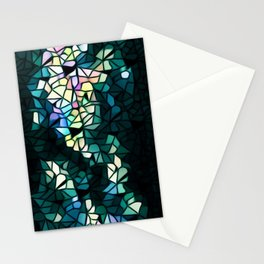 Heart Of Mosaic Stationery Cards