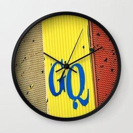 So GQ Wall Clock