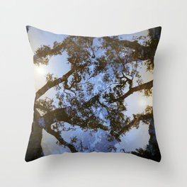 Filamental Throw Pillow