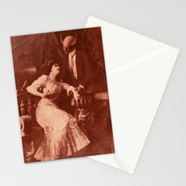 Dark Victorian Portraits: The Lovers Stationery Cards