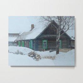 Russian Village Metal Print