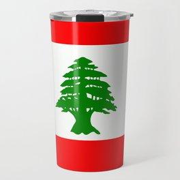 Flag of Lebanon Travel Mug