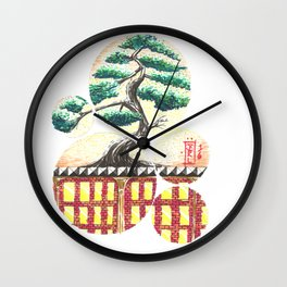 Bonsai City Wall Clock