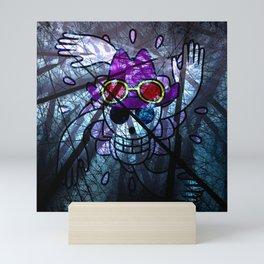 Pirates Flag with Dark Forest 6 Mini Art Print