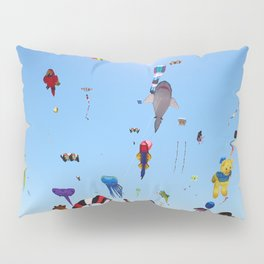 Kites over Lake Michigan Pillow Sham