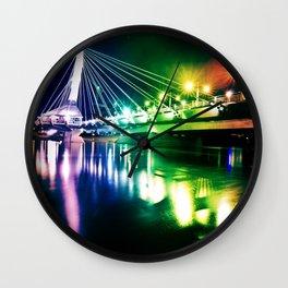 Provencher Bridge Wall Clock