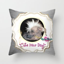 Gentle Giants Rescue and Adoptions Throw Pillow