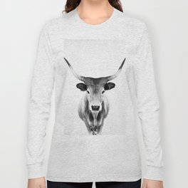 Honey - black and white Long Sleeve T-shirt