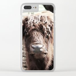 Longhorn Clear iPhone Case