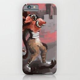 aries/gemini iPhone Case