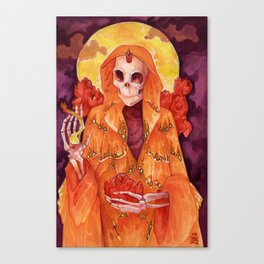 Santa Mariposa Canvas Print