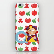q for queen iPhone & iPod Skin
