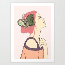 Alanis Art Print