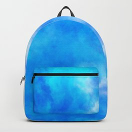 sky dye series, blue Backpack