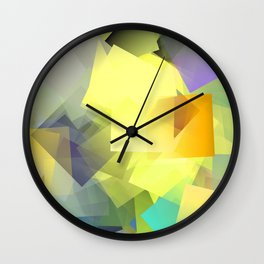 Cubism Abstract 201 Wall Clock