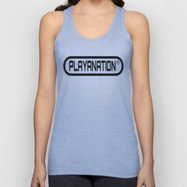 Reg PlayaNationMG BLK Unisex Tank Top