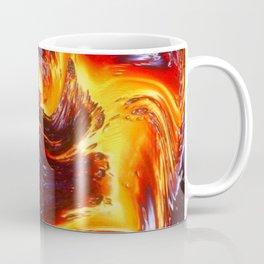 Lava Abstract Art Coffee Mug