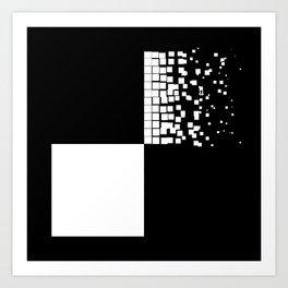 Squares 3 Art Print
