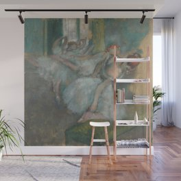 Ballet Dancers by Hilaire-Germain-Edgar Degas Wall Mural