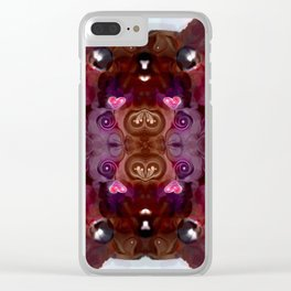 I may be cute but hey! Respect! Clear iPhone Case