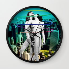 Sex in the City Wall Clock