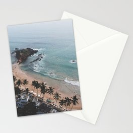 Aerial Mirissa Beach, Sri Lanka 2 Stationery Cards