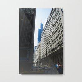 Sears Tower II Metal Print