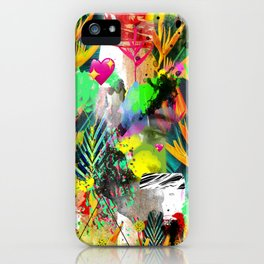 AltErEd tExtUrE iPhone Case