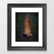 Bonfire of Souls Framed Art Print