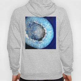 Blue Crystal Geode Hoody