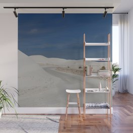 White Sand Reaches Up To The Horizon Wall Mural