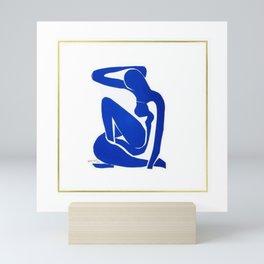 Henri Matisse, Nu Bleu II (Blue Nude II) lithograph modernism portrait painting Mini Art Print