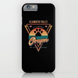 Klamath Falls Oregon iPhone Case