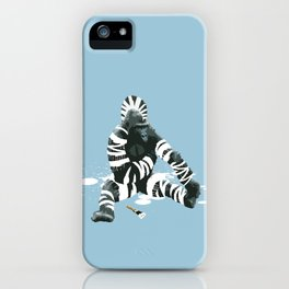Gorillebra iPhone Case