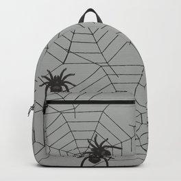 Hallween Spider web Backpack