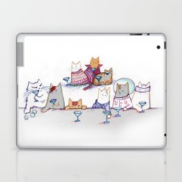 Why Cats Drink: Because Bowie Laptop & iPad Skin