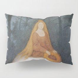 """""""The White Bear"""" by Theodor Kittelsen Pillow Sham"""