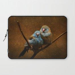 Male and Female Cordon Bleu Canaries Laptop Sleeve