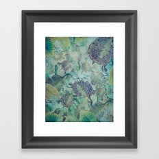 Watery Whimsy Framed Art Print