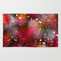 splatter Area & Throw Rugs featuring Splatter by KRArtwork