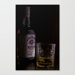 Jim Beam Canvas Print