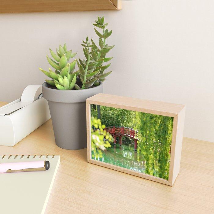 Japanese Arch Framed Mini Art Print