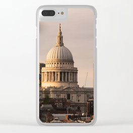 ArtWork St Paul Cathedral London UK Photo Art Clear iPhone Case