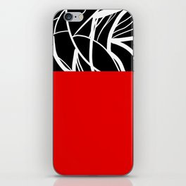 Red Zebra iPhone Skin